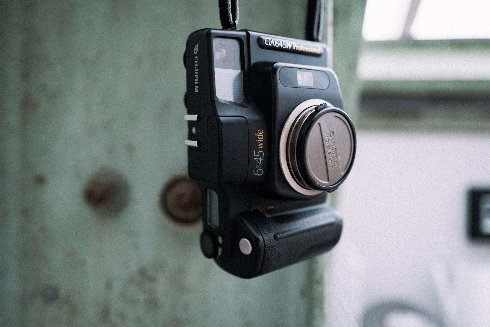 Fuji GA645W Wide Professional Mittelformat Analogkamera