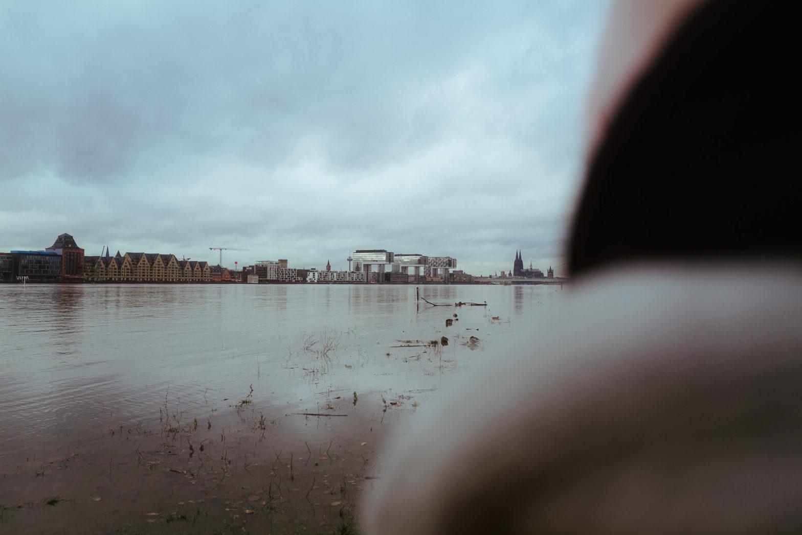 Hochwasser in Köln – Poller Wiesen