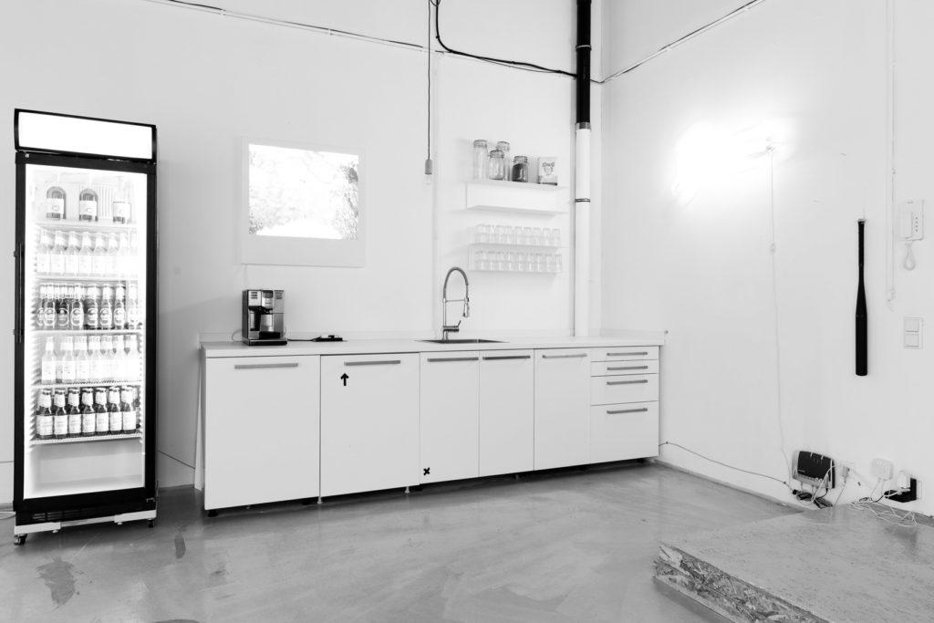 Küche im Studio BENHAMMER