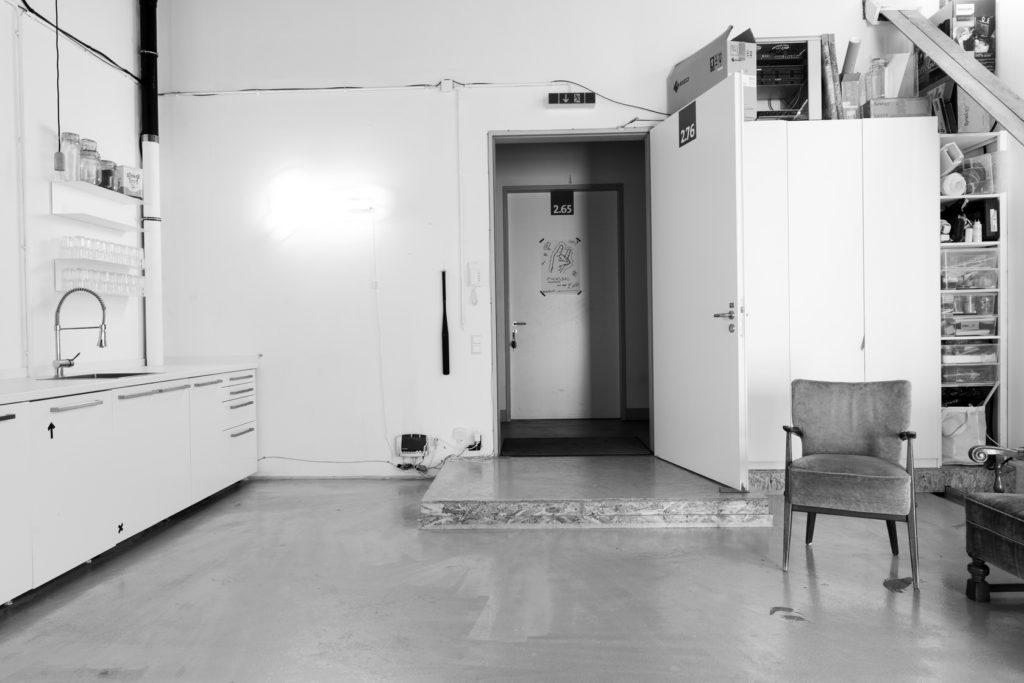 Offene Ateliers in Köln im Quartier am Hafen bei Ben Hammer