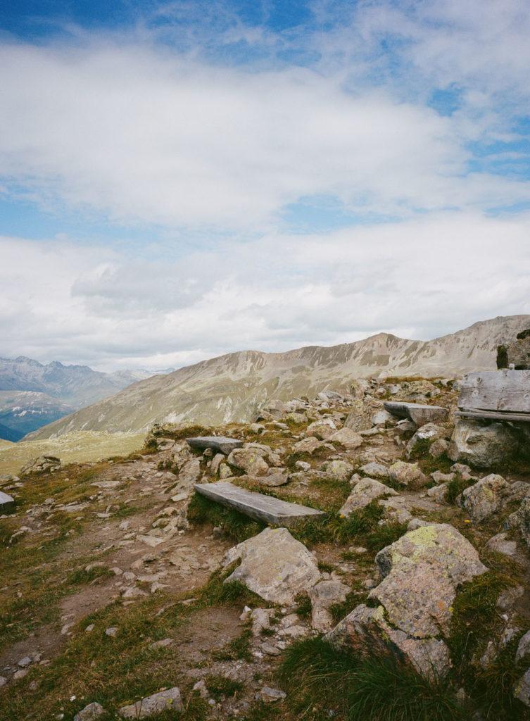 Segantini Hütte fotografiert mit der Fuji GA645 Wide