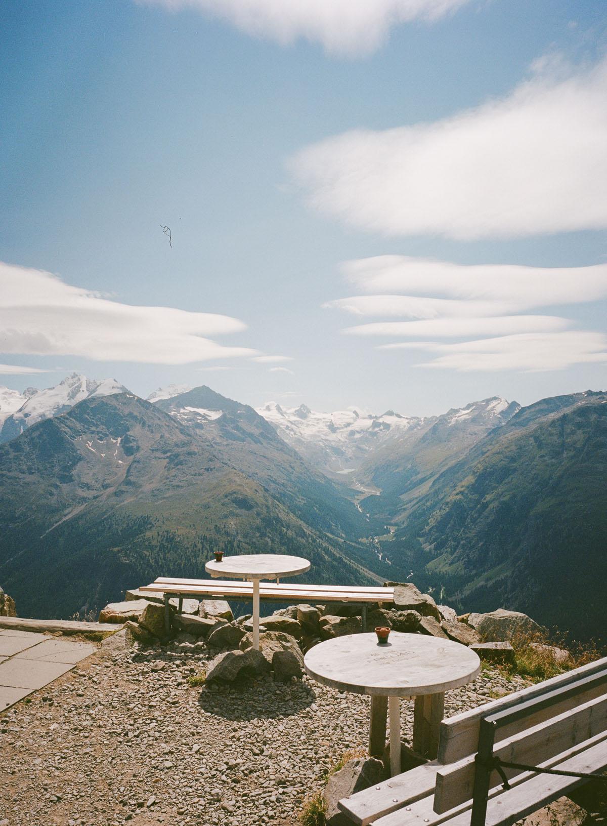 Segantini Hütte mit der Fuji GA645 Wide